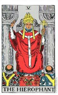 タロットカード 法王